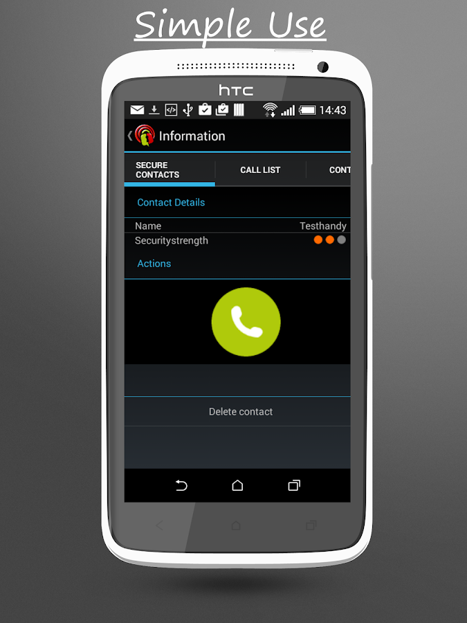 CallProtector- screenshot