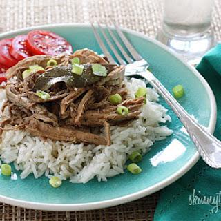 Slow Cooker Filipino Adobo Pulled Pork.