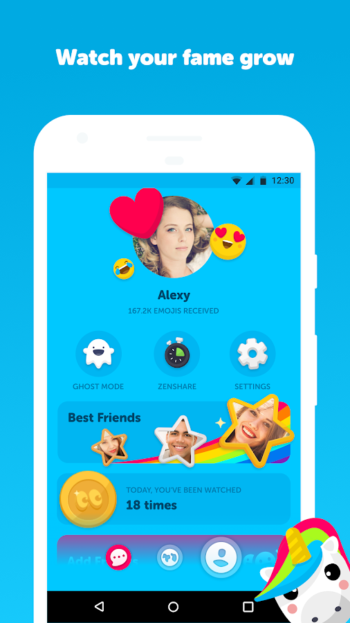 Zenly - your social map & friend locator app - Android ...