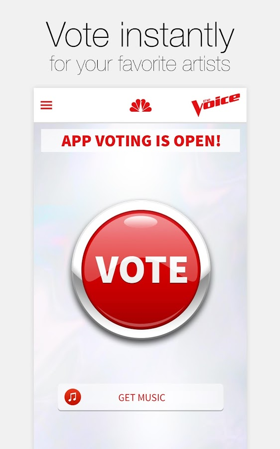 The Voice Official App Android Apps On Google Play