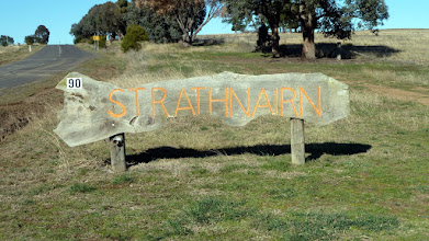 Photo: Entry sign to Strathnairn on Stockdill Drive