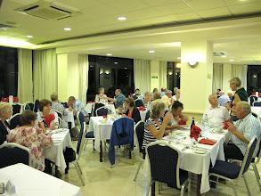 Photo: 13.10.08St Paul's Bay, Qawra : hôtel Dolmen, restaurant, espace dédié au groupe