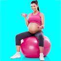 Pregnancy Workouts at Home & Pregnant Yoga icon