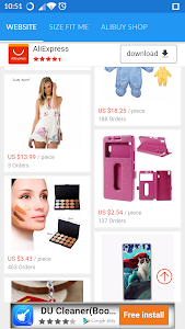 AliBuy-Shopping screenshot 1