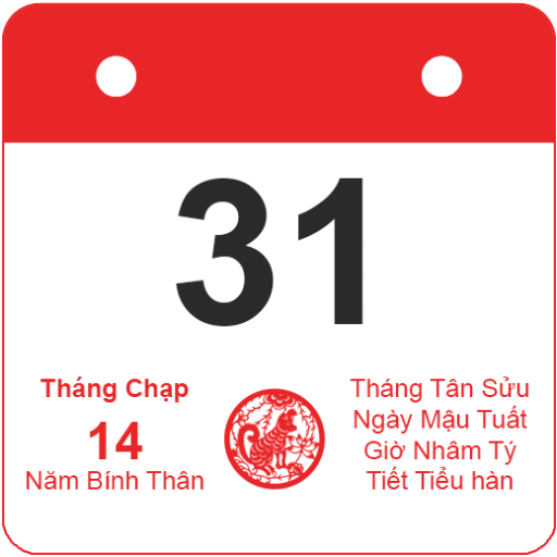 Vietnamese lunar calendar file APK for Gaming PC/PS3/PS4 Smart TV