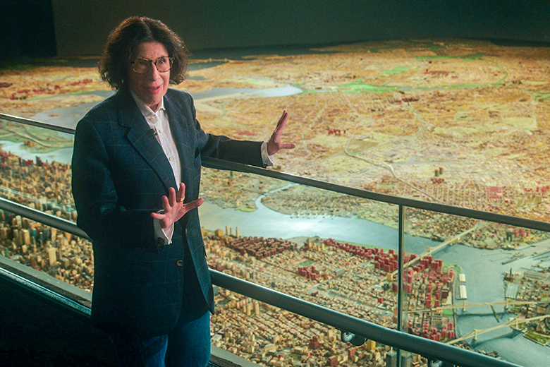 Fran Lebowitz at the Panorama in Queens in Pretend its a City