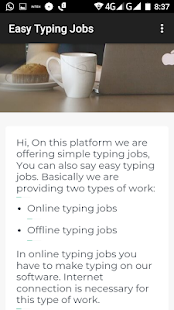 Easy Typing Jobs High Payout - náhled