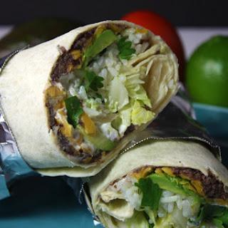 Vegetarian Burritos Avocado Recipes