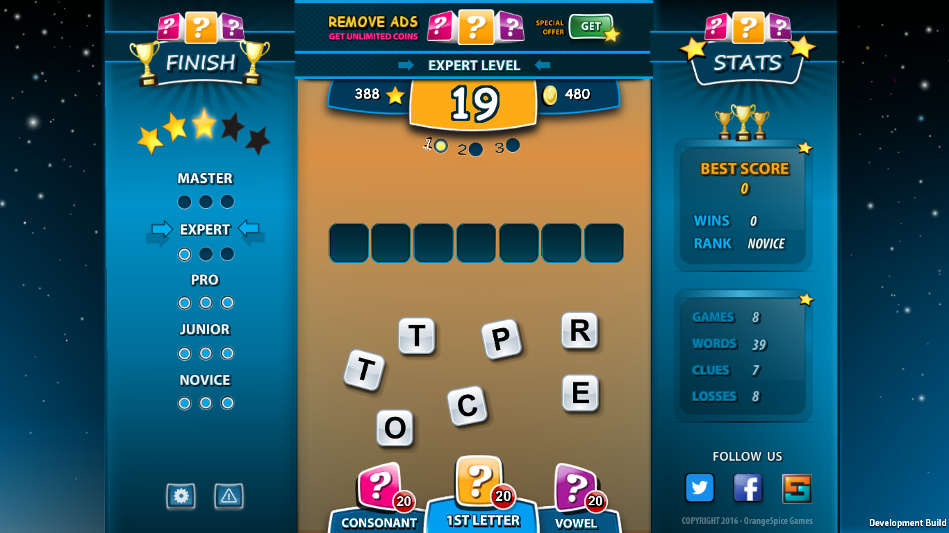WORDFIX Word Game- screenshot