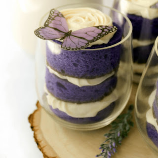 Simple Cake Cups.