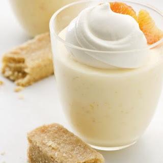 Citrus Cream Pudding.