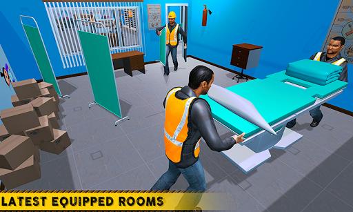 City Hospital Building Construction Building Games 1.1 Mod screenshots 4