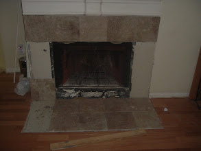 Photo: 12x12 marble fire place surround
