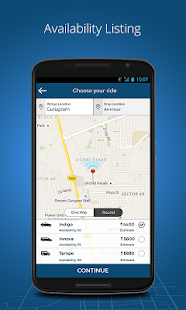 MyTaxiIndia:OutstationTaxi App- screenshot thumbnail