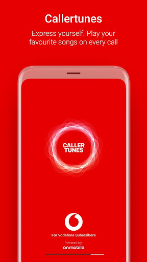 Vodafone Callertunes - Latest Songs & Name Tunes 3.0.3.7 screenshots 1