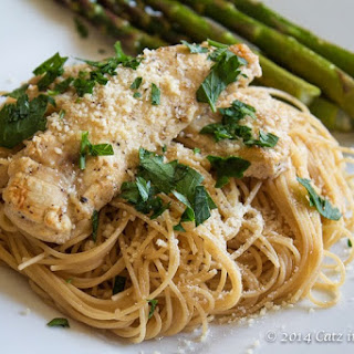 Italian Chicken with Angel Hair Pasta