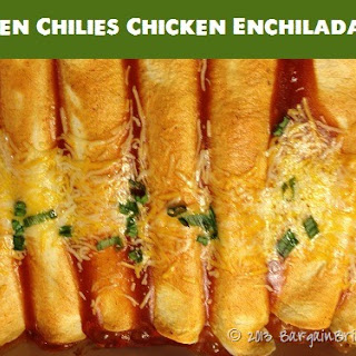 Green Chilies Chicken Enchiladas