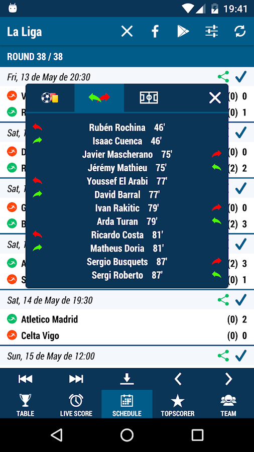 La Liga- screenshot