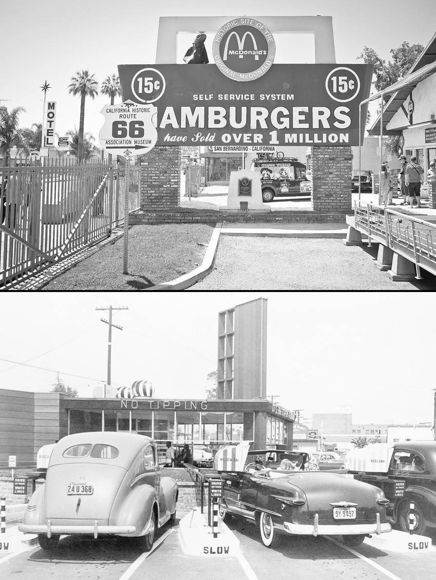 First USA Fast Food Restaurants