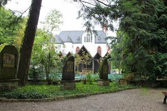 Photo: Mandag besøgte vi klosterkirken Marienthal i regnvejr