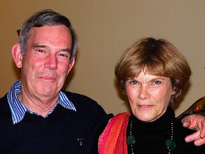 Photo: Cousin Peter John, and wife Patricia (Trish), Perth WA.