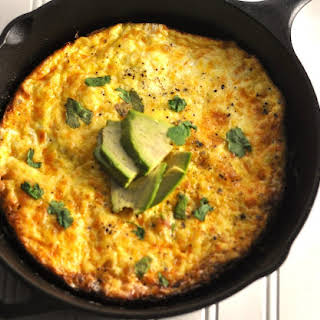 Bacon Frittata - Low Carb, Ketogenic, Gluten-Free.