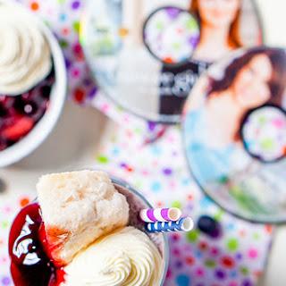 Blueberry Shortcake Milkshake