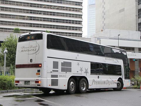 西日本JRバス「プレミアム中央ドリーム342号」 744-0901 リア