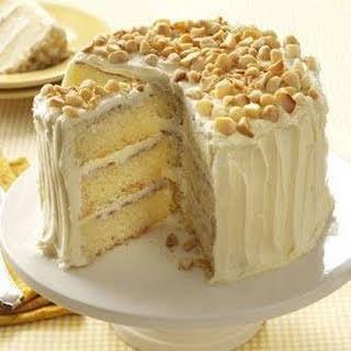 White Chocolate-Coconut Layer Cake.
