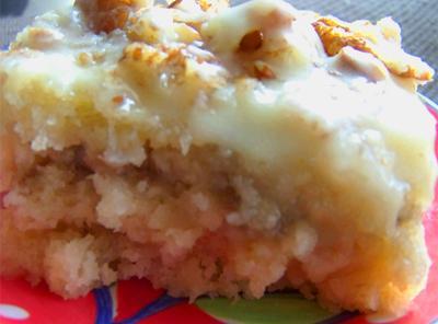 Moist Buttermilk Banana Cake Recipe