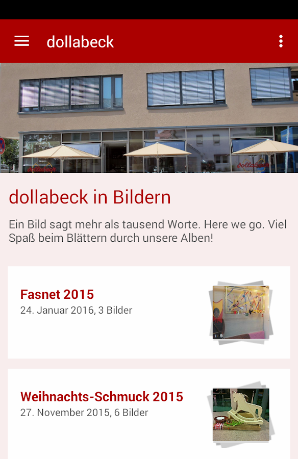 Café Dollabeck- screenshot