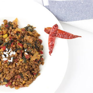 Swiss Chard and Lentils with Coconut Recipe