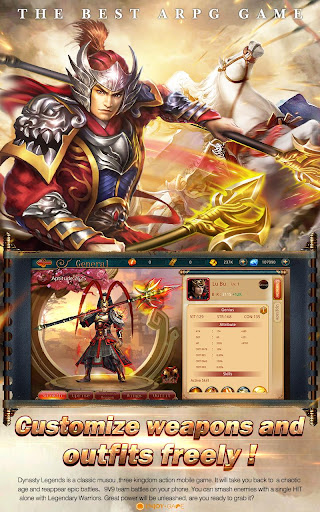 Dynasty Legends-Game of Glory for PC
