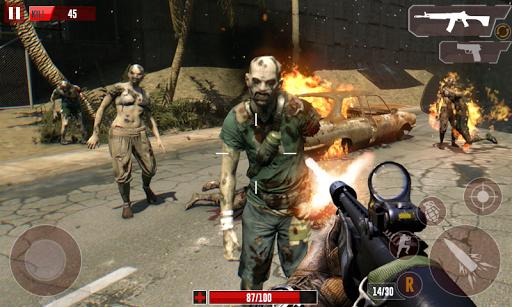 Code Triche Dead Zombie Shooting Target 3D APK Mod screenshots 1
