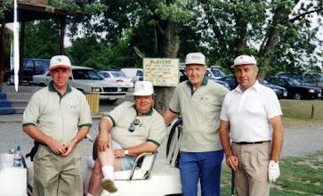 Photo: Alan Wyllie, Maurice LaChance , Dalton McIntyre, Frank Vaculik