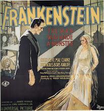 """Photo: O poster original de """"Frankenstein"""" (1931) que é considerado um dos mais caros do mundo. http://filmesclassicos.podbean.com"""