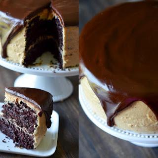 Chocolate & Peanut Butter Dream Cake