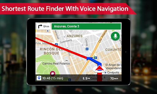 Offline maps with Street View : GPS Route Tracker 1.0.15 screenshots 3