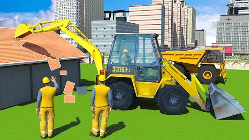 Construction Simulator Excavator Game 2020 1.0.4 de.gamequotes.net 3