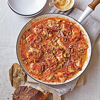 Catalan Fish Stew with Pimentón Mayonnaise