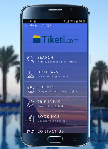 Tiketi.com Holidays & Tickets- screenshot