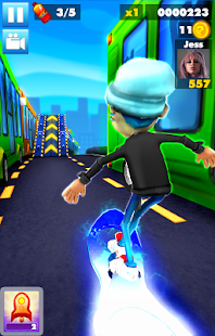 Subway multiplayer : rush endless surf 3D PLUS