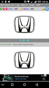 My Passion Car- Logo Quiz Game 3