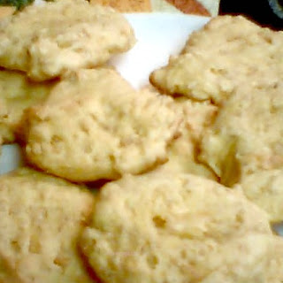 Frugal Lemony Rice Crispy Cookies
