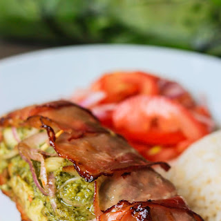 Stuffed Chicken Breast with Pesto Wrapped in Parma Ham Recipe