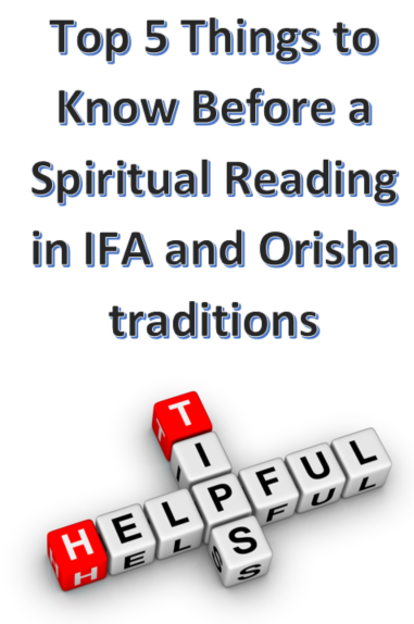 The Top 5 Things to Know Before a Spiritual Reading in IFA and Orisha traditions