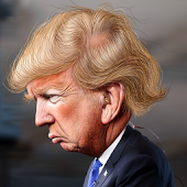 Trump Hair Snap Filter