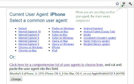 User-Agent Switcher Chrome插件下载crx 扩展介绍- 插件迷