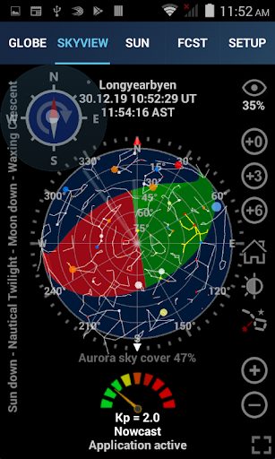 Aurora Forecast 3D Screenshots 2