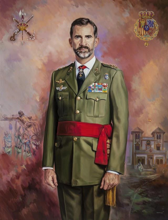 Retrato del rey, Felipe VI.